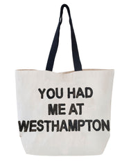 You Had Me at Westhampton Sequin Tote