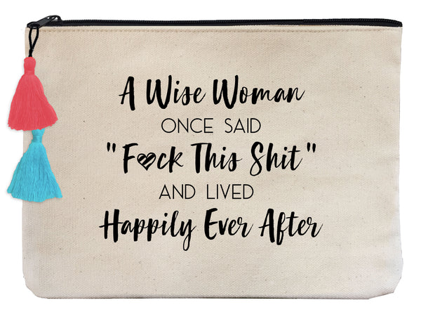 HAPPILY EVER AFTER - Flat Pouch