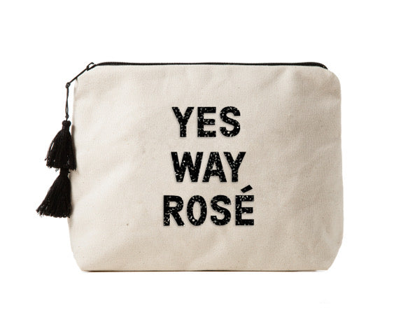 YES WAY ROSÉ - Bikini Bag Clutch