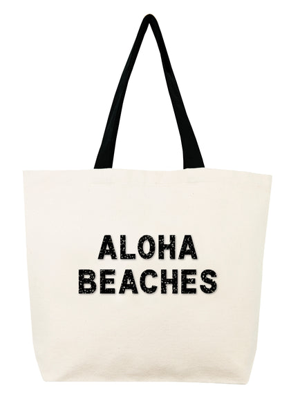 Aloha Beaches Crystal Tote