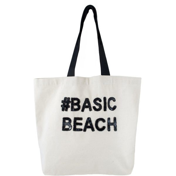 #Basic Beach Sequin Tote