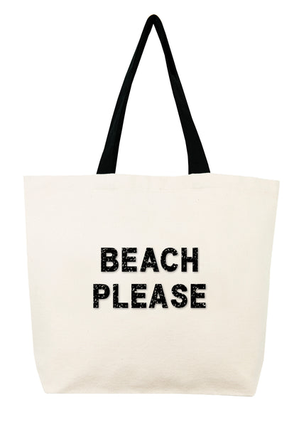 Beach Please Crystal Tote