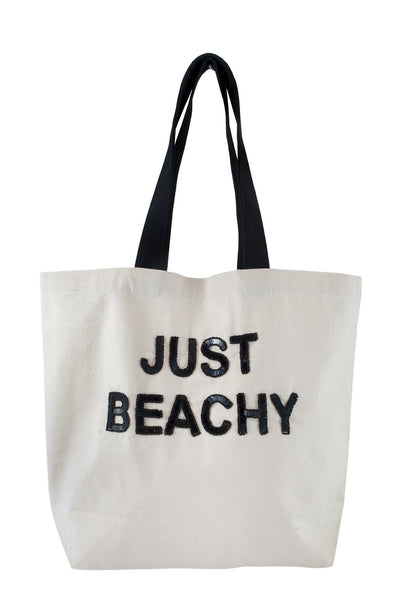 Just Beachy Sequin Tote
