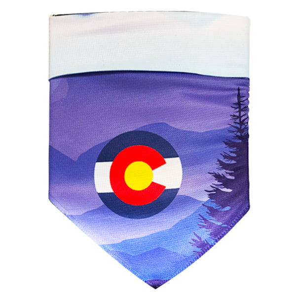 Protective Sport Bandana - Colorado Mountains
