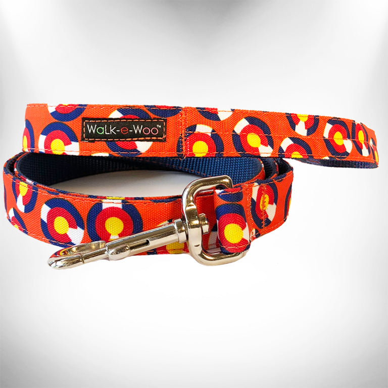 Colorado Orange Dog Leash