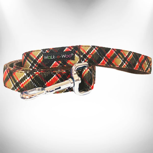 Gatsby Plaid Dog Leash
