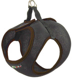 Brown Step-In Dog Harness