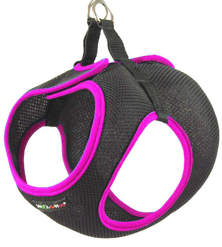 Pink Step-In Dog Harness WalkeWoo