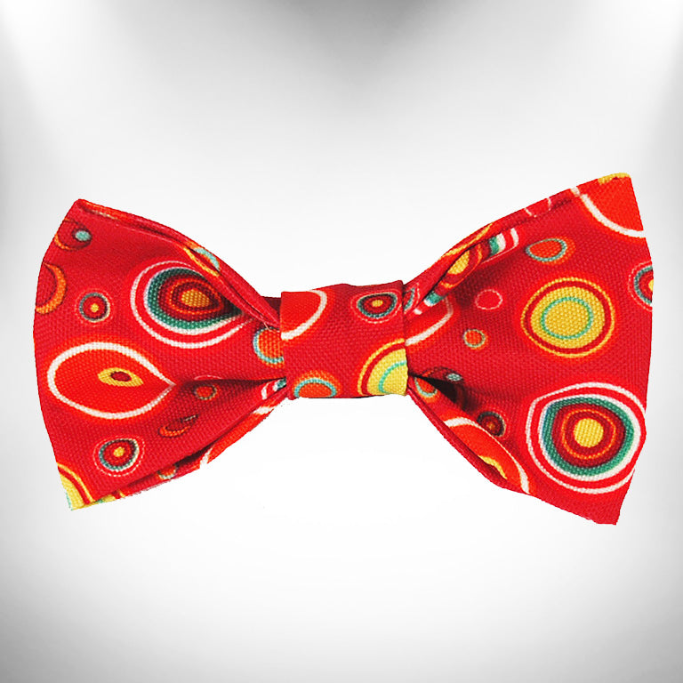 Red Martini Doggie Bow Tie
