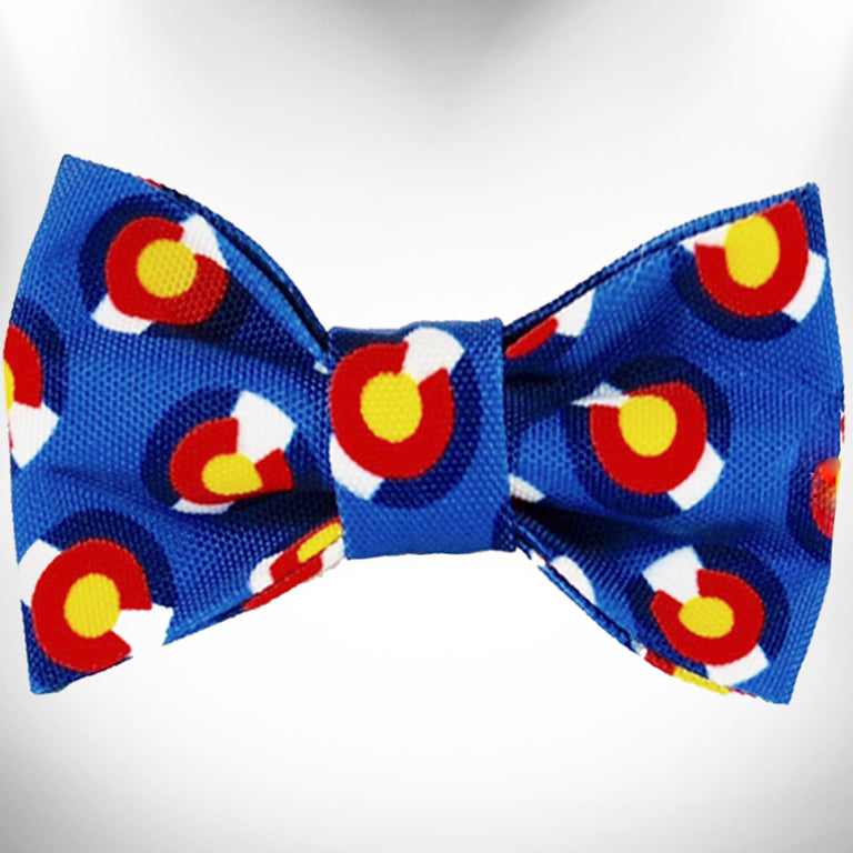 Colorado Blue Bow Tie