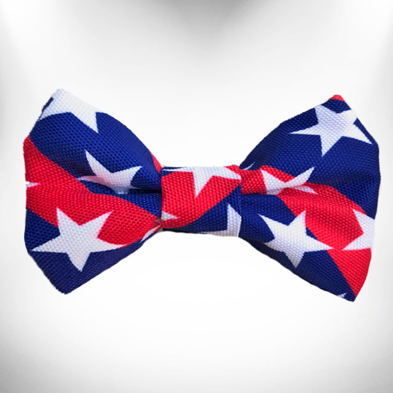 Stars & Stripes Doggie Bow Tie