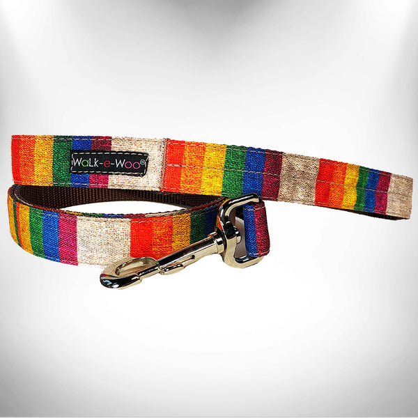 Rainbow Pride Dog Leash