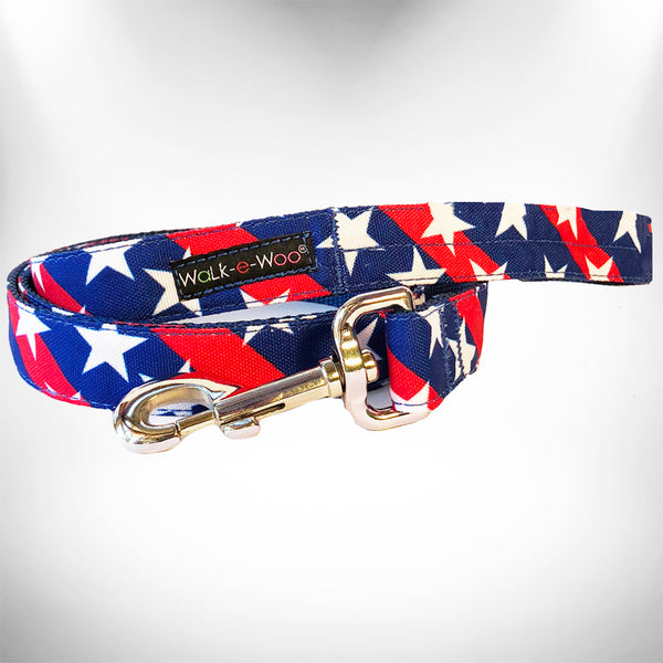 Stars & Stripes Dog Leash