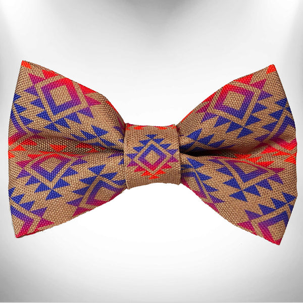 Sunrise Sunset Doggie Bow Tie