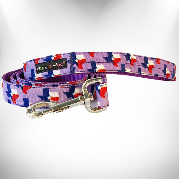 Texas Lavender Dog Leash