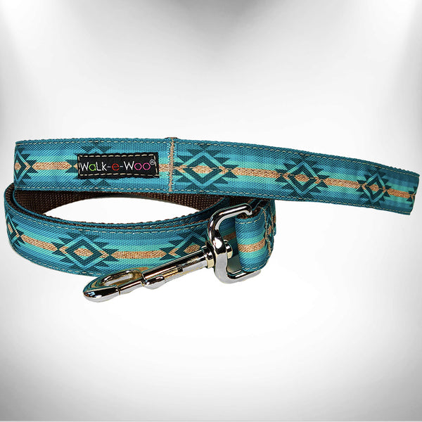 Turquoise Sky Dog Leash