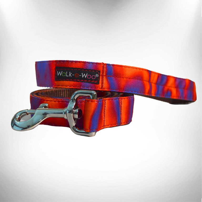 Ombre Red/Purple Dog Leash