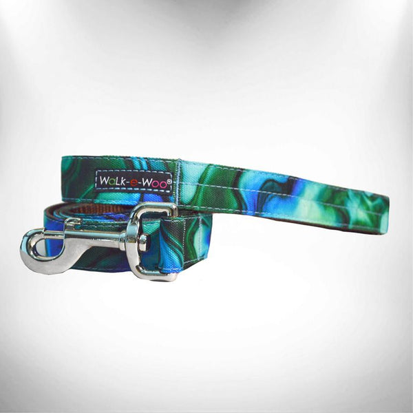 Ombre Turquoise Dog Leash