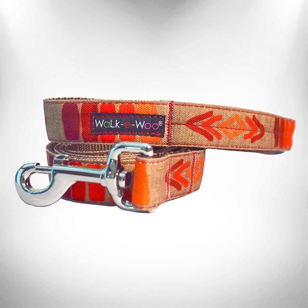 Tribal Red Dog Leash