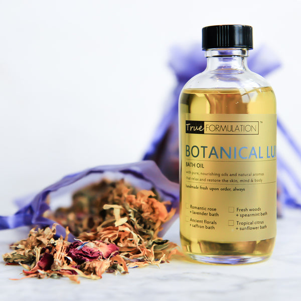 Botanical Luxe Bath: <br>Ancient florals + saffron