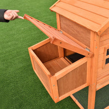 Backyard Chicken Coop Nesting Box
