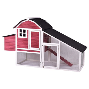 Red Barn Chicken Coop For Sale