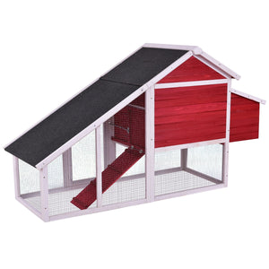 Red Chicken Coop For Sale