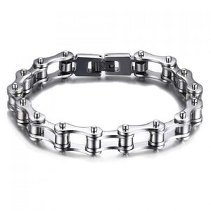 Vintage Stainless Steel Hollow Out Bracelet - Men - GOTO HOODIE