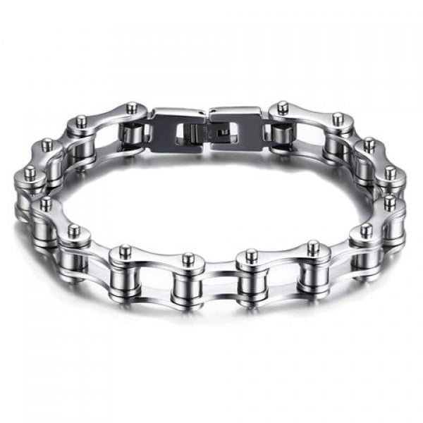 Vintage Stainless Steel Hollow Out Bracelet - Men Vintage Stainless Steel Hollow Out Bracelet - Men, Men - Jewelry - Bracelets, Goto Hoodie, Style Advantage - GOTO HOODIE