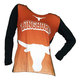 College Concepts Texas Longhorns Cameo Hoodie - Womens College Concepts Texas Longhorns Cameo Hoodie - Womens, Women - Apparel - Hoodie - Pullover, Goto Hoodie, Style Advantage - GOTO HOODIE