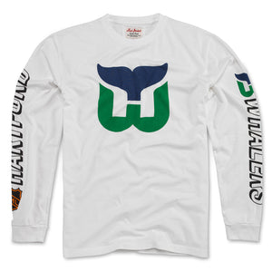 Hartford Whalers Long Sleeve Maverick Tee