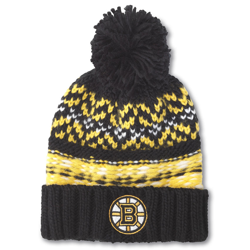 Boston Bruins Gusto Knit Hat Boston Bruins Gusto Knit Hat, Men/Women - Accessories - Hats, American Needle, GoTo Hoodie - GOTO HOODIE