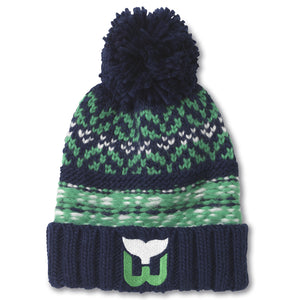 Hartford Whalers Gusto Knit Hat Hartford Whalers Gusto Knit Hat, Men/Women - Accessories - Hats, American Needle, GoTo Hoodie - GOTO HOODIE