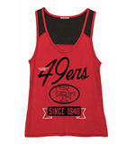 49ers Sideline Tank 49ers Sideline Tank, Women - Apparel - Shirts - T-Shirts, Junk Food Clothing, Style Advantage - GOTO HOODIE