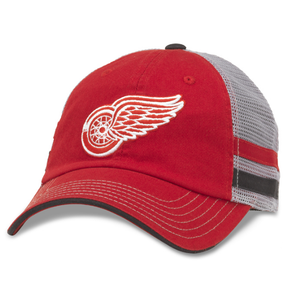 Foundry Grey - Detroit Redwings Foundry Grey - Detroit Redwings, Men/Women - Accessories - Hats, American Needle, GoTo Hoodie - GOTO HOODIE
