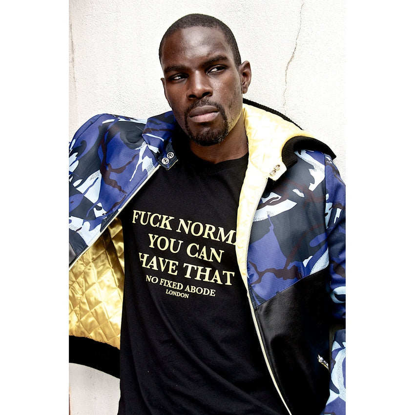 Fuck Normal You Can Have That. Crew Neck T-shirt Fuck Normal You Can Have That. Crew Neck T-shirt, Men - Apparel - Shirts - T-Shirts, No Fixed Abode, GoTo Hoodie - GOTO HOODIE