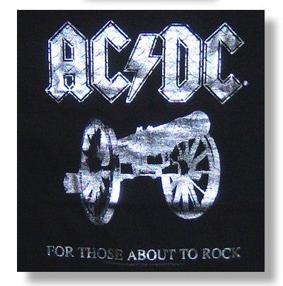 "AC/DC ""For Those About To Rock"" Tee - Mens AC/DC ""For Those About To Rock"" Tee - Mens, Men - Apparel - Shirts - T-Shirts, American Tee Shirt, Style Advantage - GOTO HOODIE"