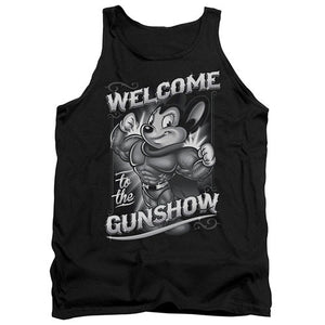 Mighty Mouse Welcome to the Gunshow Tank Top Mighty Mouse Welcome to the Gunshow Tank Top, Men/Women - Apparel - Shirts - Tank Top, Trevco, Style Advantage - GOTO HOODIE