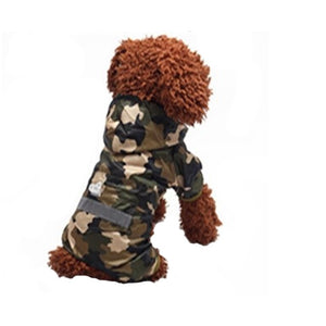 Dog Camo Hoodie Raincoat Dog Camo Hoodie Raincoat, Pet - Dog - Apparel - Raincoat, Goto Hoodie, Style Advantage - GOTO HOODIE