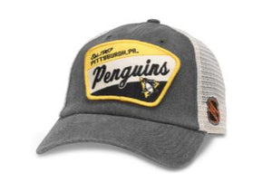 Vintage Pittsburgh Penguins Ravenswood Hat - American Needle - GOTO HOODIE