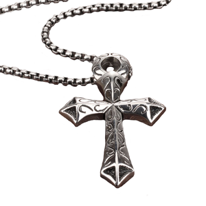 Vintage Cross Pendant Necklace - Men TODAY ONLY: FREE SHIPPING - GOTO HOODIE