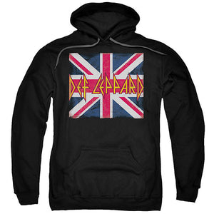 Def Leppard Union Jack Def Leppard Union Jack, Men/Women - Apparel - Hoodie - Pullover, Trevco, Style Advantage - GOTO HOODIE