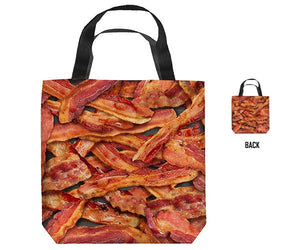 Bacon Collage Tote Bag & Accessory Pouches - Multiple Sizes Bacon Collage Tote Bag & Accessory Pouches - Multiple Sizes, Women - Bags - Totes, GoTo Hoodie, GoTo Hoodie - GOTO HOODIE
