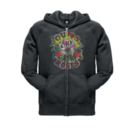 Guns N Roses Swag Full Zip Hoodie - Mens Guns N Roses Swag Full Zip Hoodie - Mens, Men - Apparel - Hoodie - Full Zip, American Tee Shirt, Style Advantage - GOTO HOODIE