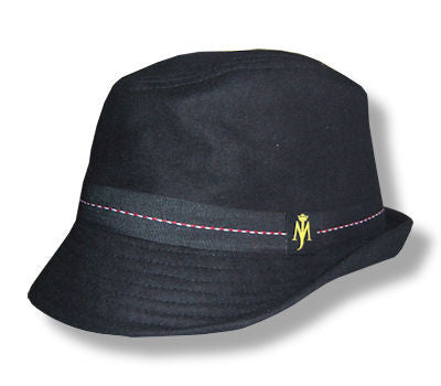 "Michael Jackson ""MJ Logo"" Wool Fedora - Unisex Michael Jackson ""MJ Logo"" Wool Fedora - Unisex, Men/Women - Accessories - Hats, American Tee Shirt, Style Advantage - GOTO HOODIE"