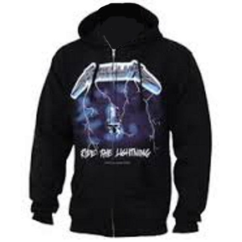 "Metallica ""Ride The Lightning"" Fleece Hoodie - Mens Metallica ""Ride The Lightning"" Fleece Hoodie - Mens, Men - Apparel - Hoodie - Full Zip, Bravado, Style Advantage - GOTO HOODIE"