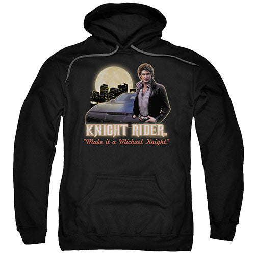 "Knight Rider ""Make it a Michael Knight"" Hoodie - Adult & Youth - GOTO HOODIE"