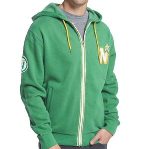 Vintage Minnesota North Stars Full Zip Hoodie - GOTO HOODIE
