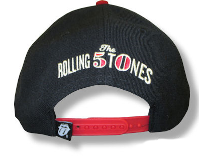 "The Rolling Stones ""50th"" Snap Back Cap - Unisex - GOTO HOODIE"
