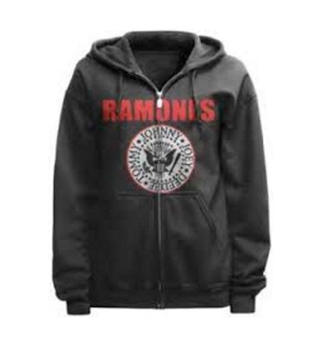 "The Ramones ""Iconic Logo"" Full Zip Fleece Hoodie - Mens The Ramones ""Iconic Logo"" Full Zip Fleece Hoodie - Mens, Men - Apparel - Hoodie - Full Zip, Bravado, Style Advantage - GOTO HOODIE"